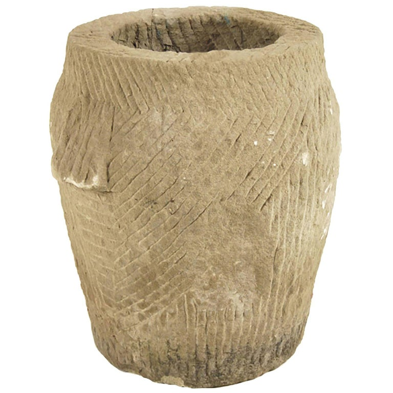 Chinese Stone Mortar For Sale
