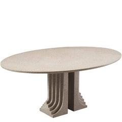 Carlo Scarpa 'Samo' Table for Simon in Granite