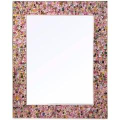 Tutti Frutti Mirror in Tourmaline, by Kam Tin