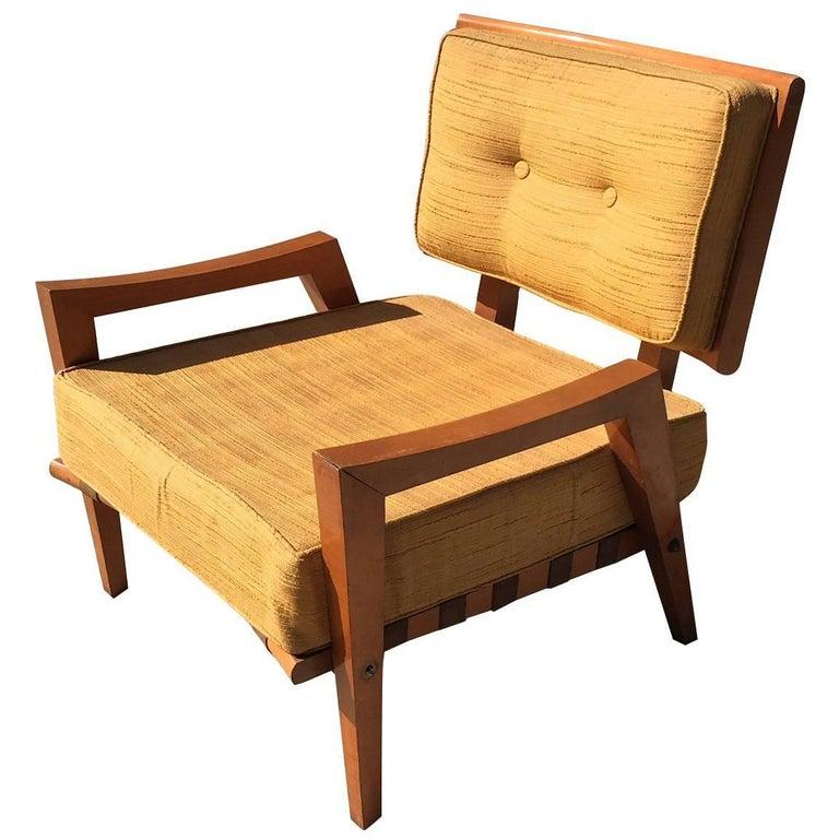 Strap Lounge Chair T H Robsjohn-Gibbings for Widdicomb