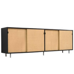 Florence Knoll Caned Credenza Designed for Knoll Office