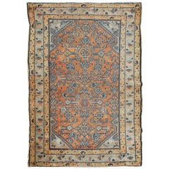 Antique Persian Tribal Style Hamadan Rug