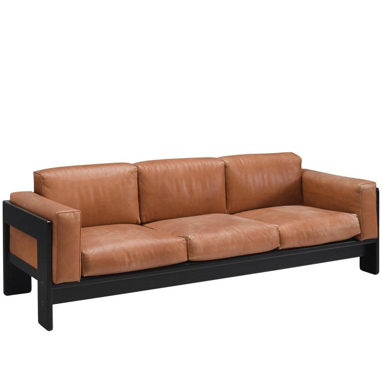 Pair of 'Bastiano' Sofas by Tobia Scarpa for Knoll