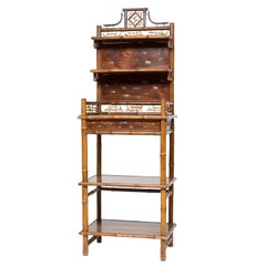 19th Century Asian Inspired Etagere Stand