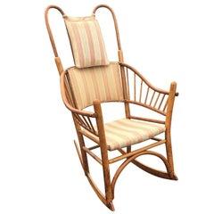 Adirondack Style Thonet Bentwood Rocking Chair