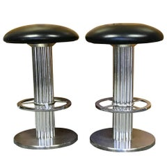 Bar Stools Pair of Design for Leisure Bar Stools