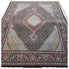 Mahi Genuine Hand-Knotted Persian Maralan Tabriz Rug/Carpet