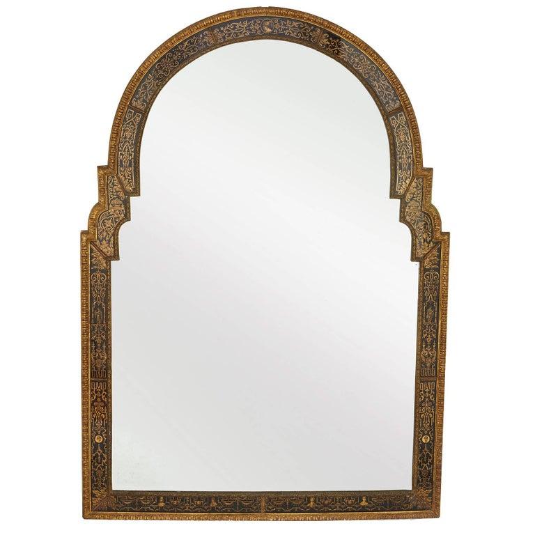 Antique Giltwood Louis XIV Style Mirror