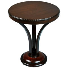 John Graz Imbuia Wood Occasional Table, Brazil, circa 1930