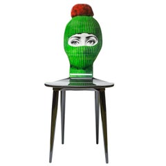 Fornasetti Lux Gstaad Chair Green