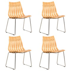 Hans Brattrud Beechwood Scandia Junior Side Chair for Hove Mobler, Norway
