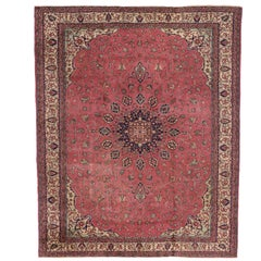 Antique Turkish Sparta Rug with Romantic Venetian Regency Style