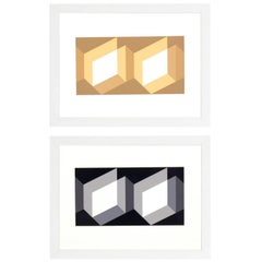 Lithographs by Josef Albers from Formulation and Articulation