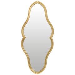 Labarge Gilt Keyhole Mirror, circa 1960s
