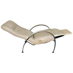 Recliner Chair Mid-Century Modern by Lafer Billie