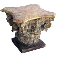 Tony Duquette Collection, Italian Neoclassical Corinthian Capital