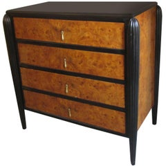 Art Deco Small Chest of Drawers