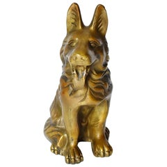 Brass Dog