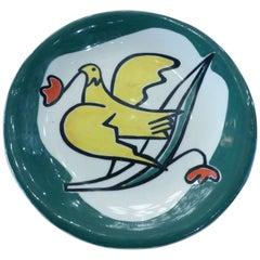 Roland Brice Beautiful Ceramic Dish, circa 1960
