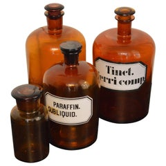 19th Century French Apothecary Jars