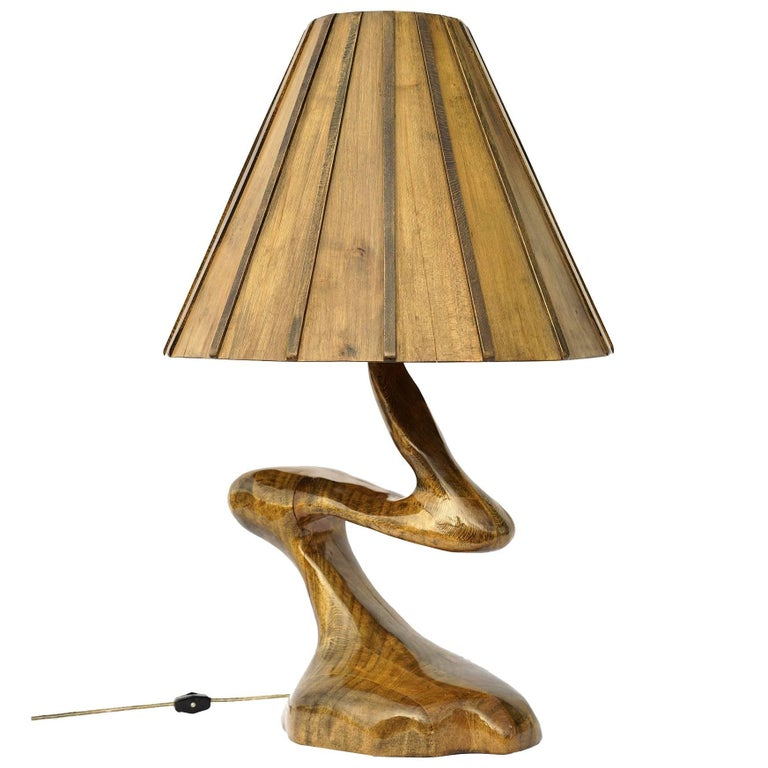 Sculptural Studio Craft Lamp