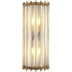Mezzo Wall Lamp in Antique Brass Finish