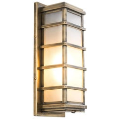 Tamise Wall Lamp in Antique Brass or in Bronze or in Nickel Finish