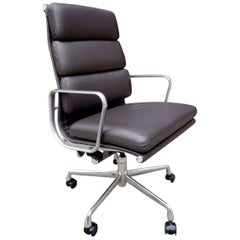 Midcentury Eames High Back Soft Pad Chair for Herman Miller