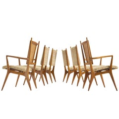 Vladimir Kagan for Dreyfuss Dining Set in Walnut