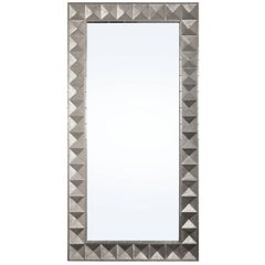 Talitha Nickel Floor Mirror