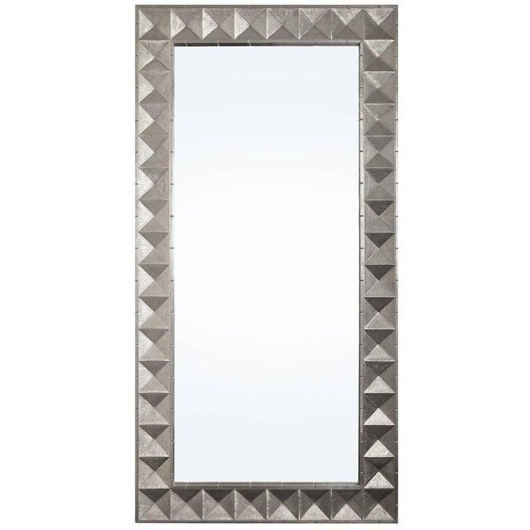 Talitha Nickel Floor Mirror