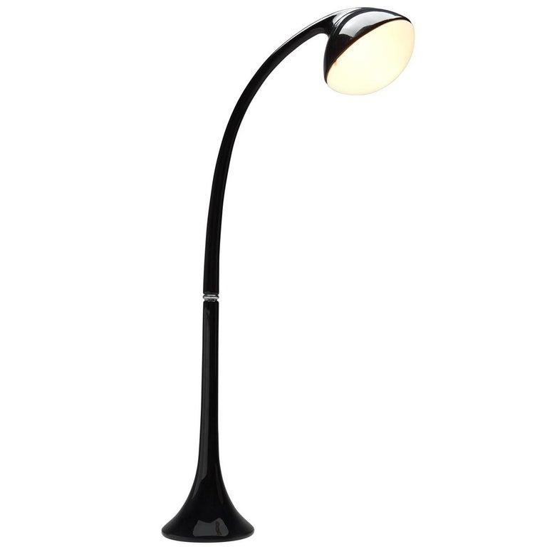 Fabio Lenci for Guzzini Black Floor Lamp