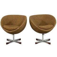 Pair of Danish Mid-Century Modern Planet Chairs