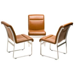 Set of Three Karl Erik Ekselius Chairs for J.O. Carlsson, Sweden