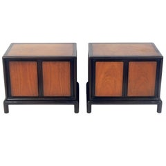 Pair of Night Stands in the Manner of T.H. Robsjohn Gibbings