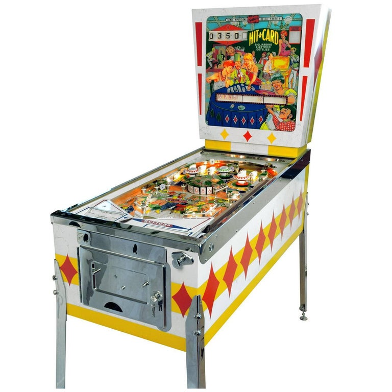 Gottlieb Hit-a-Card, Vintage Pinball Machine 1967, Fully Restored