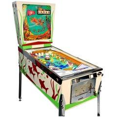 Gottlieb Atlantis, Vintage Pinball Machine 1975, High-End Restored