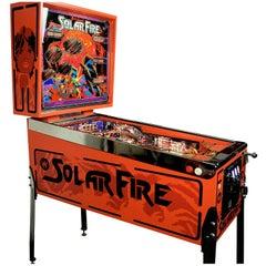 Williams Solar Fire, Vintage Pinball Machine 1981, High-End Restored