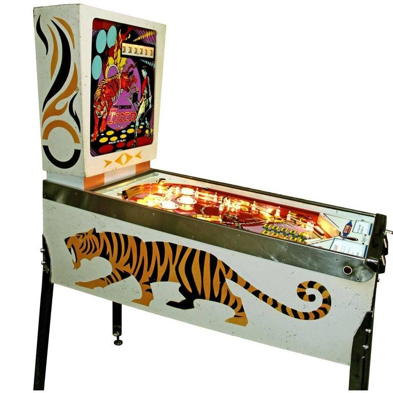 Gottlieb The Cirqus Tiger, Vintage Pinball Machine 1975, Fully Restored