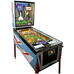 Williams Magic City, Vintage Pinball Machine 1967, High-End Restored