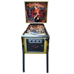Bally Eight Ball Deluxe, Vintage Pinball Machine 1981, Restored