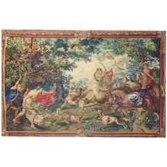 Very Fine and Important Tapestry from Bruxelles, Late 17th Century