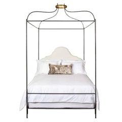 Tara Shaw Maison Iron Venetian Canopy Bed, Twin