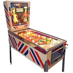 Gottlieb Majorettes, Vintage Pinball Machine 1964, High-End Restored