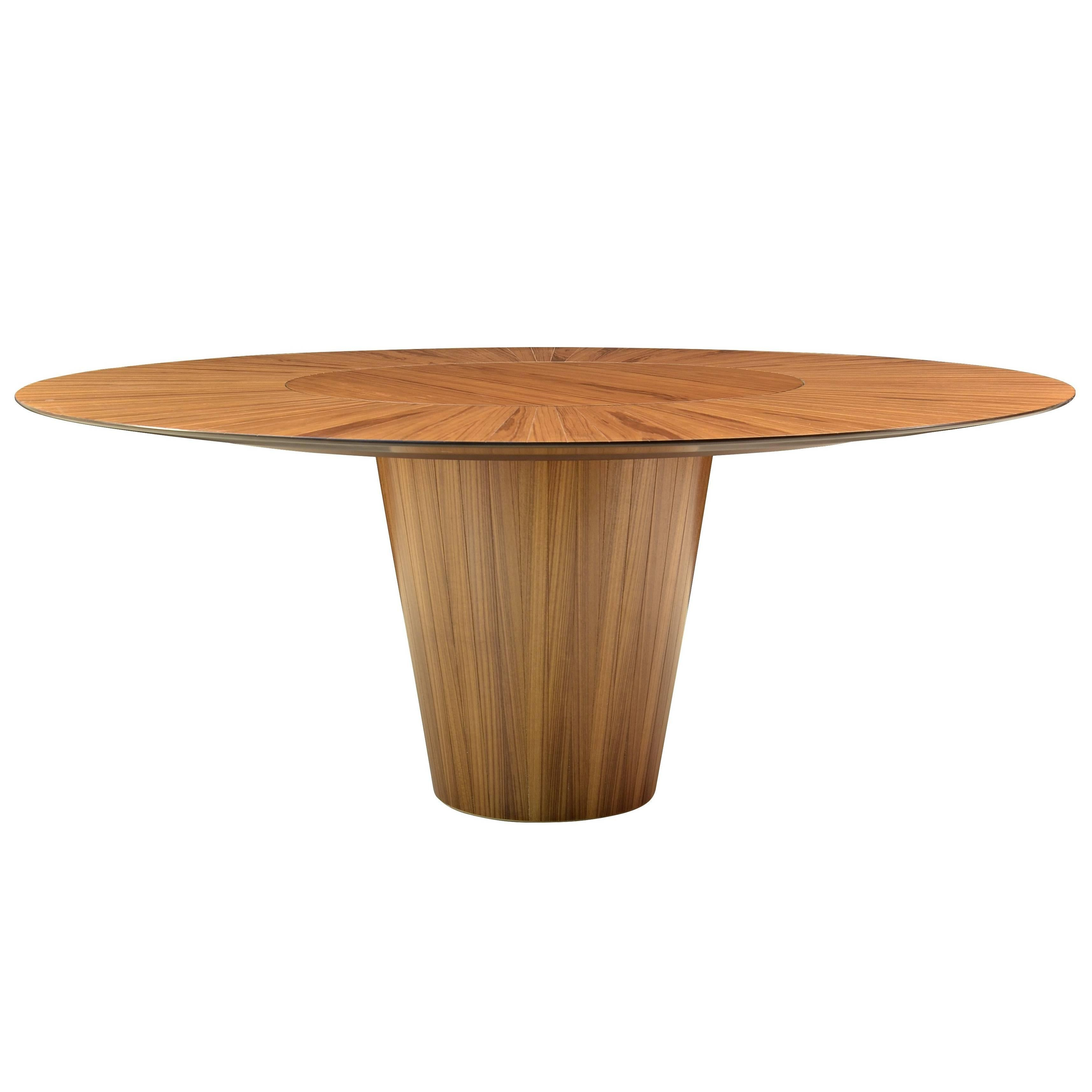 """""""DISCO"""" Contemporary Dining Table in Wood by Pedro Useche"""