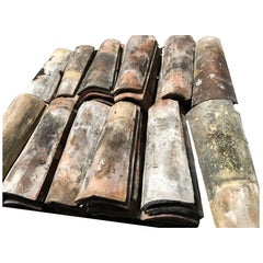 French Antique Roof Tiles from Provence, 19th Century, France
