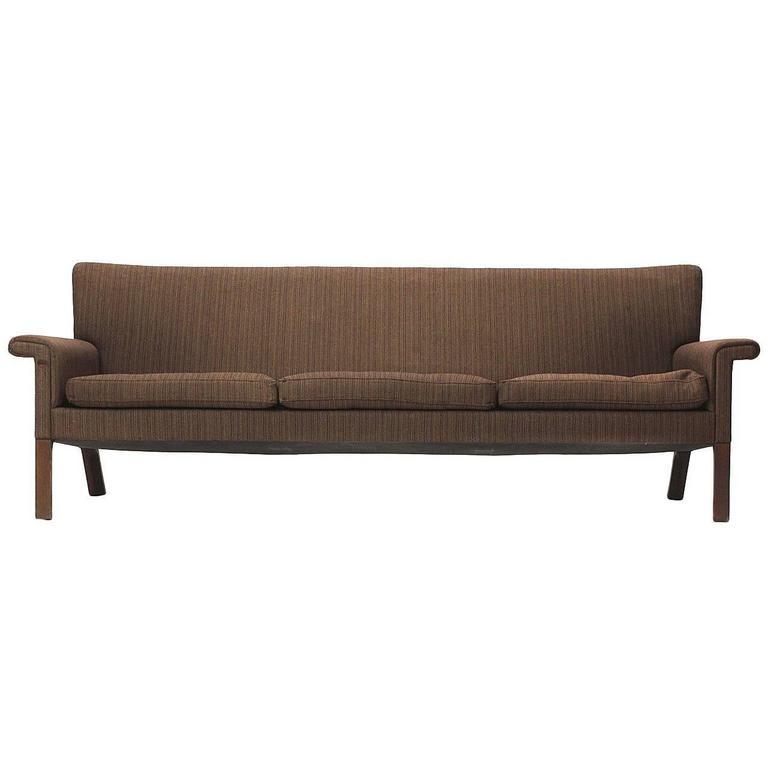 Roll Arm Sofa by Hans J. Wegner