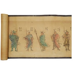 Chinese Outlaws of the Marsh Hand Scroll
