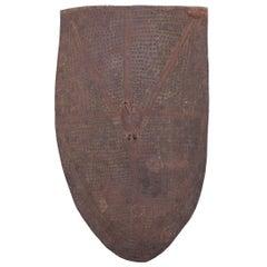 Nigerian Mofu Patterned Metal Shield