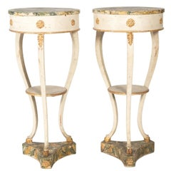 1790s Pair of Gustavian Pedestals